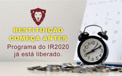 IR 2020: Restituição começa antes e será mais rápida