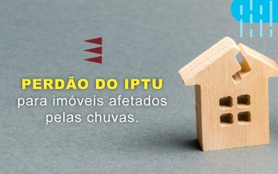 Cidades concedem perdão do IPTU para imóveis afetados pelas chuvas