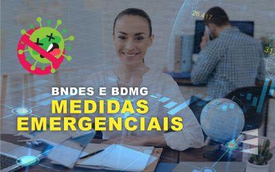 Medidas Emergenciais do BNDES e BDMG