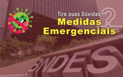 Medidas Emergenciais do BNDES