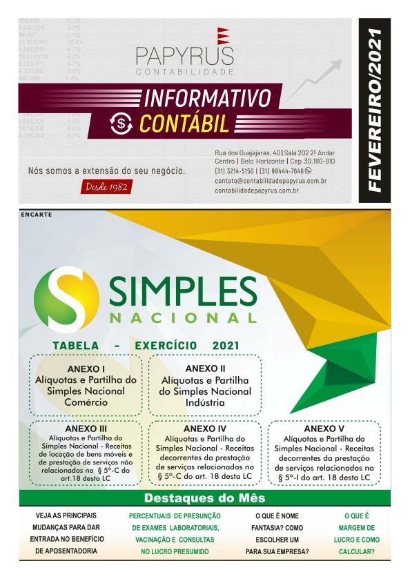 Informativo Contábil Online