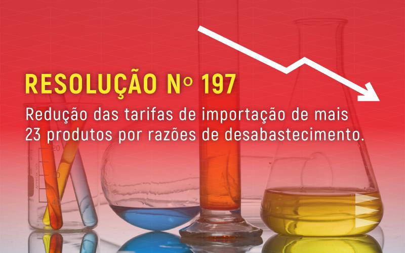 Reduzido Imposto de Importação para mais 23 produtos